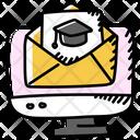 Educational Mail Educational Email Educational Letter Icon