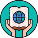 Educational For All Global Book Environment Book Icon