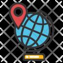 Educational Globe Icon
