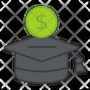Educational Grant Educational Loan Scholarship Icon