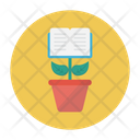 Growth Book Reading Icon