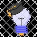 Educational Idea Educational Innovation Bright Idea Icon