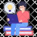Educational Idea Icon