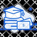 Educational Loan Educational Coverage Educational Financing Icon