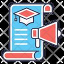 Educational Marketing Learning Promotion Educational Promotion Icon