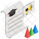 Informative Analytics Educational Marketing Educational Analytics Icon