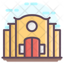 Educational School Building Icon