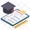 Educational Todo List Icon