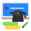 Graduate Books Screen Icon