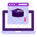 Educational Web Page Education Website Online Learning Icon
