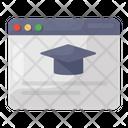 Educational Website Study Website Learning Webpage Icon