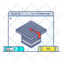 Educational Website Online Education Digital Education Icon