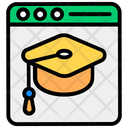 Educational Website Educational Portal Learning Webpage Icon