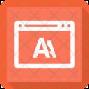 Education Webpage Internet Icon