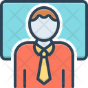 Educator Teacher Instructor Icon