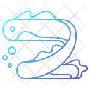 Eel Deep Sea Animal Icon