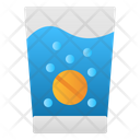 Effervescent Water Glass Icon