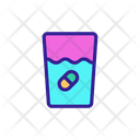 Effervescent Tablet Icon