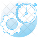 Productivity Efficiency Effectiveness Icon