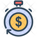 Seo Efficiency Profit Icon