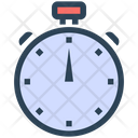 Seo Efficiency Stopwatch Icon