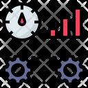 Efficiency Performance Indicator Icon