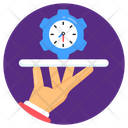 Efficient Service Performance Service Management Service Icon