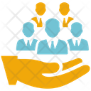 Efficient Team Business Strategy Icon