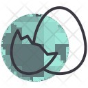 Egg Hatch Easter Icon