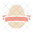 Egg Easter Ribbon Icon