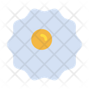 Omlet Fry Egg Healthy Food Icon