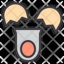 Egg Broken Egg Food Icon
