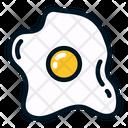 Egg Fried Egg Eat Icon