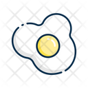 Egg Omlet Food Icon