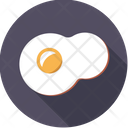 Egg Yolk Fried Icon