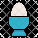 Egg Boiled Breakfast Icon