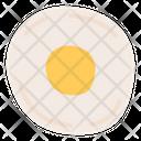 Egg Omelette Breakfast Icon