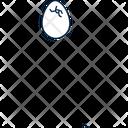 Egg Broken Egg Fragile Egg Icon