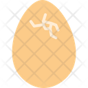 Egg Broken Egg Fragile Egg Icon