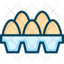 Eggsm Egg Egg Tray Icon