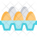 Eggsm Egg Egg Tray Icon