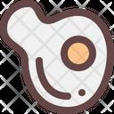 Egg Omelette Food Icon