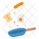 Egg Fried Pan Icon