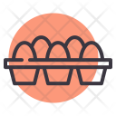 Egg Eggs Tray Icon