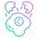 Egg Fried Candy Icon