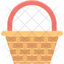 Egg Basket Bucket Icon