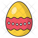 Egg Easter Decoration Icon