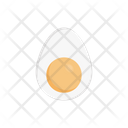 Egg Yolk Omelette Icon