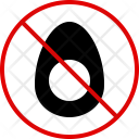 Egg Meal Allergy Icon