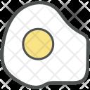 Egg Fried Breakfast Icon
